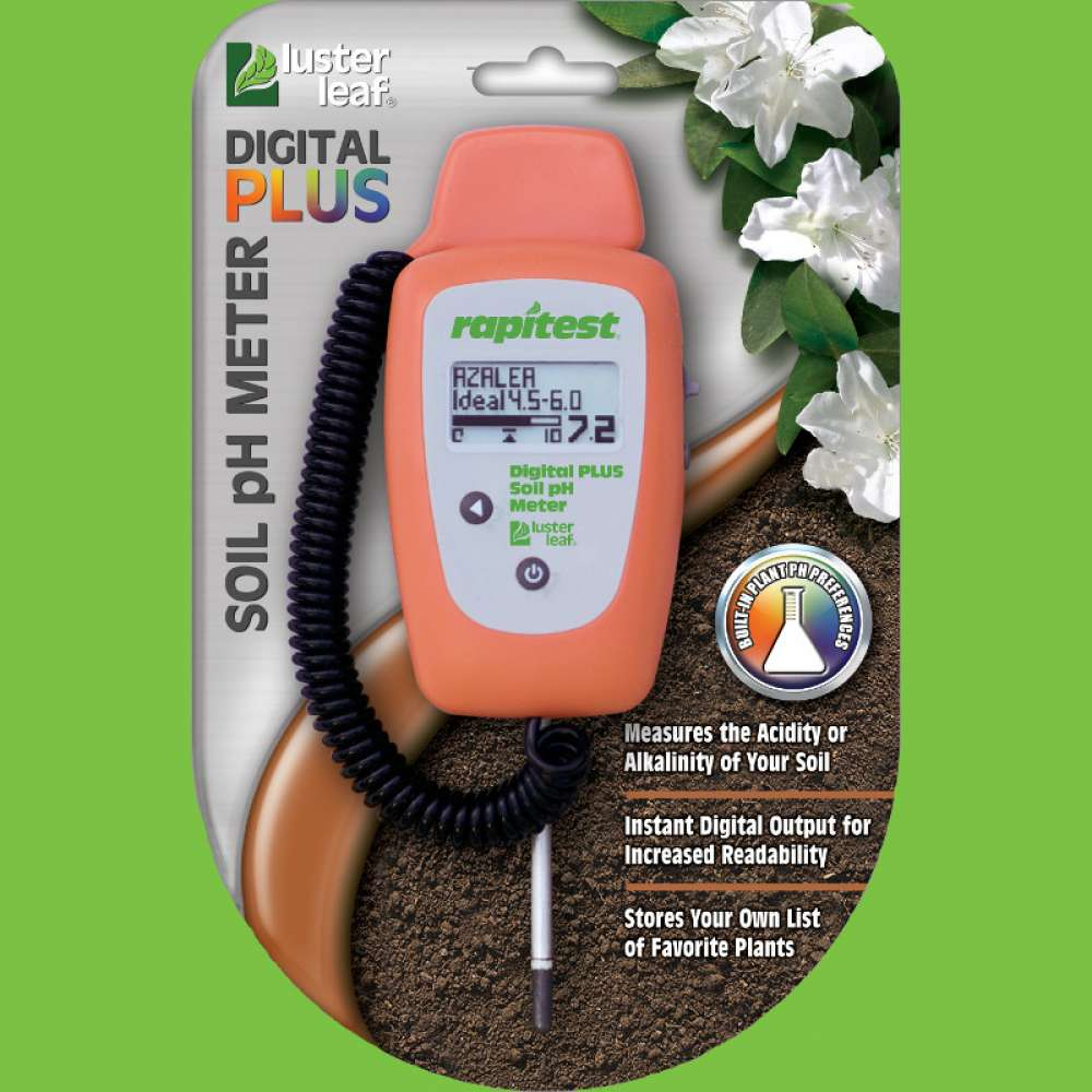 1847 Digital Plus Soil pH Meter with Plant Database