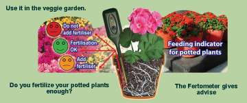 Plant care with the Fertometer