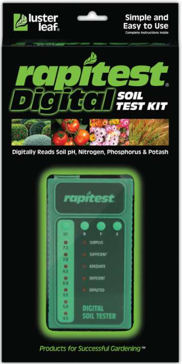 Lusterleaf Rapitest digital soil test kit 1605