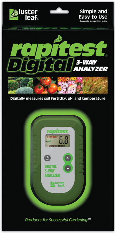 Lusterleaf Rapitest 3 way digital analyzer