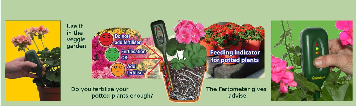 Measure nutrients level in soil with the fertometer