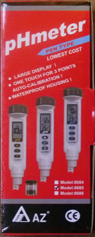 pH meter waterproof