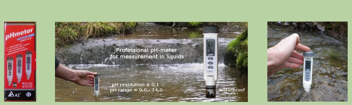 Professional pH-meter