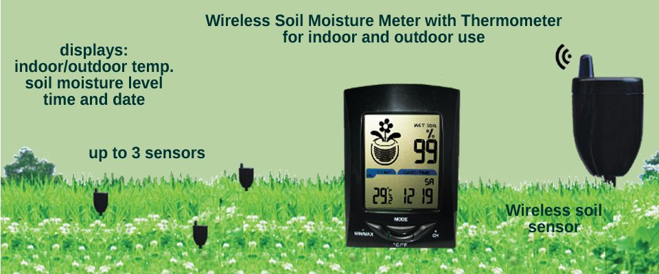 Wireless moisture monitor