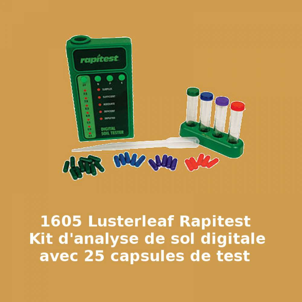 Analyseur de sol digitale – Rapitest 1605