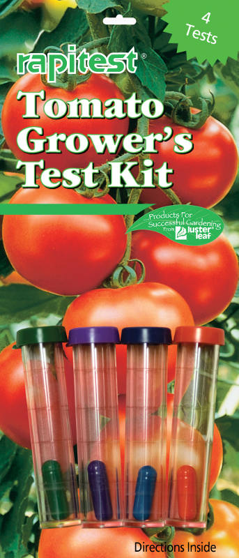 1610CS Lusterleaf Rapitest kit d'analyse du sol tomates