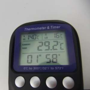 digitale grondthermometer lcd