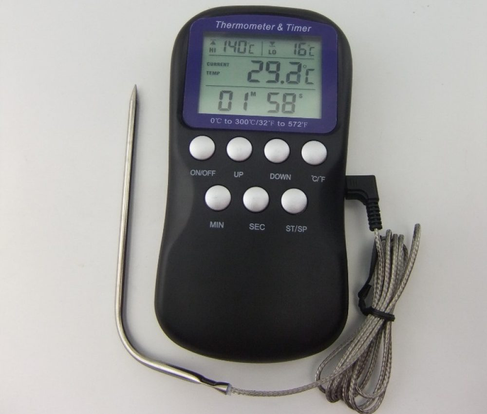 digitales Bodenthermometer