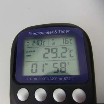 digitaler Bodenthermometer lcd