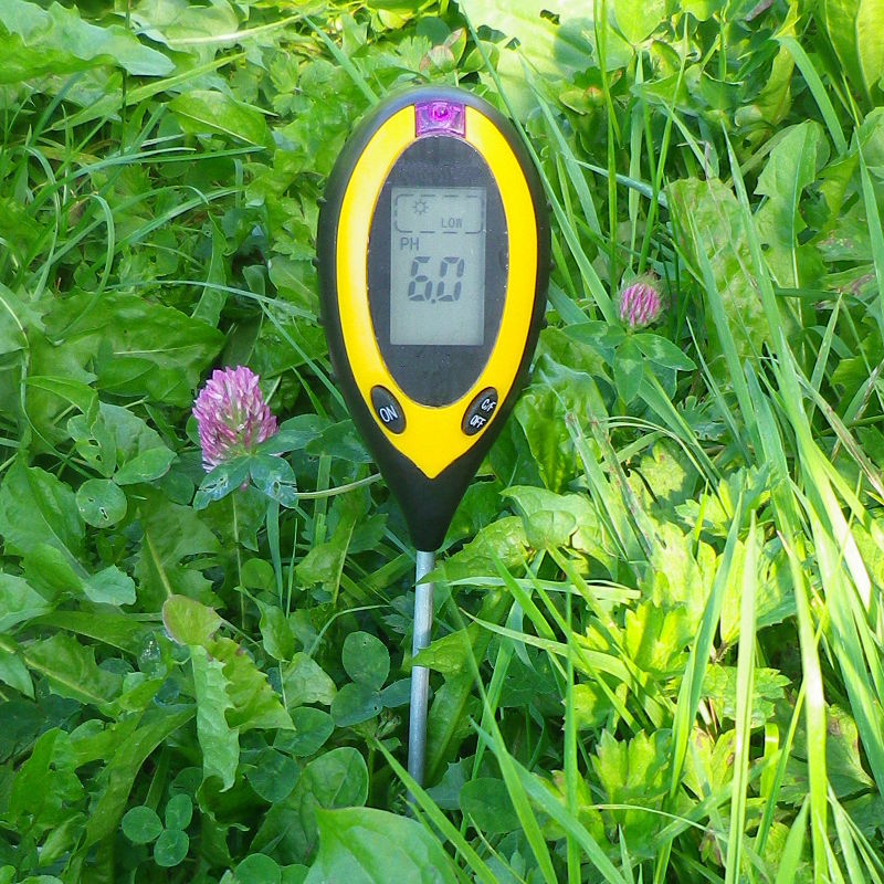 4 in 1 PH Tester Soil Water Moisture Light Test Meter for Garden Plant Flower JD