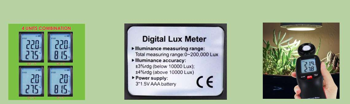 Digital Light Meter Slider