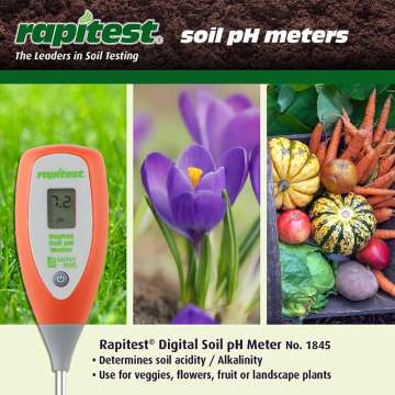 Digital pH Soil testing