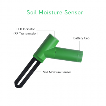 Ecowitt Soil Moisture Sensor with RF Transmission
