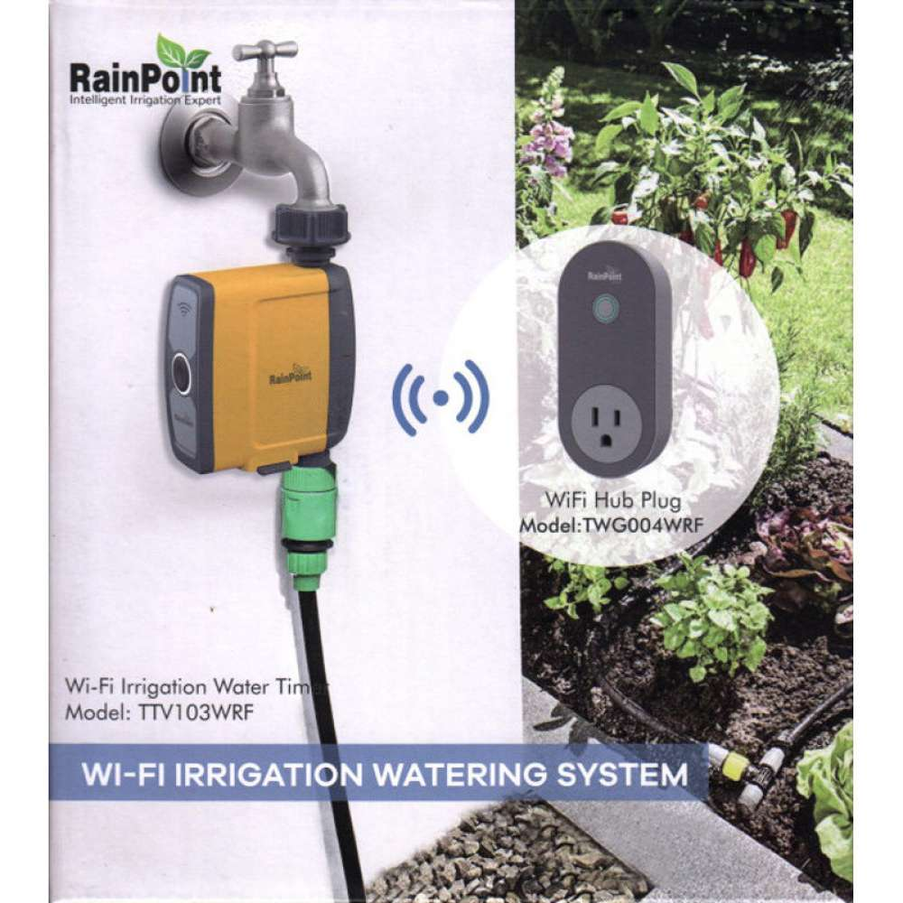 Rainpoint WiFi outdoor irrigation controller