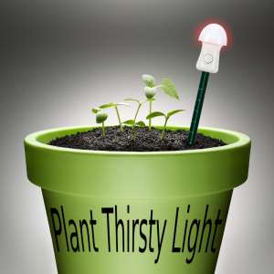 Thirsty Light pour Plantes Rouge