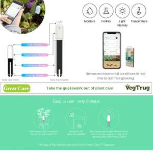 VegTrug plant care monitor