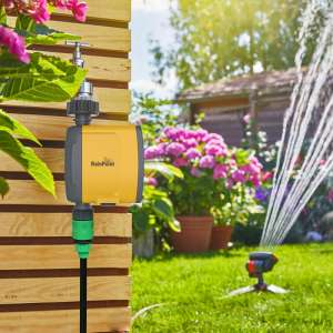 lawn WiFi irrigation controller